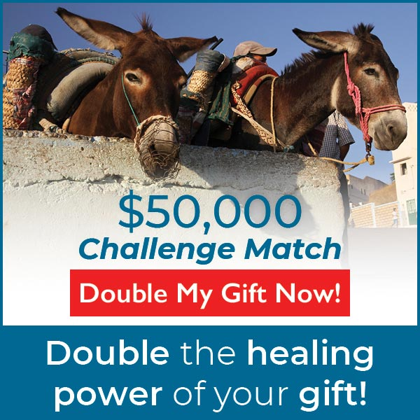 $50,000 Challenge Match - click here to double your gift today